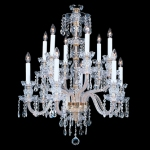 Small Durham Crystal Chandelier from King's Chandelier