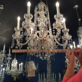 How to measure a chandelier